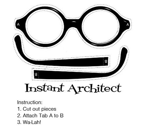 instant architect gafas le corbusier